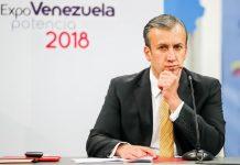 Tarek El Aissami vicepresidente de economia en Venezuela fugitivo por narcotrafico
