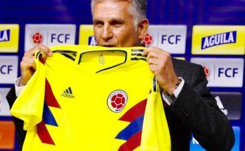 Carlos Queiroz nuevo técnico de la selección Colombia de fútbol