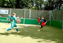 Cancha de mini pitch en Berlin